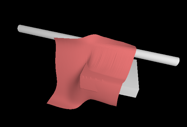 Simple cloth simulation